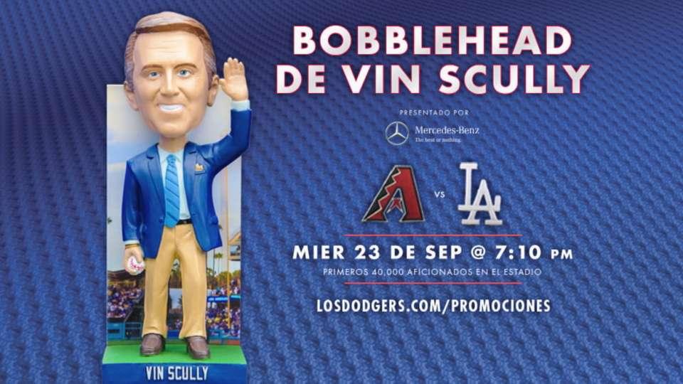 Bobblehead de Vin Scully