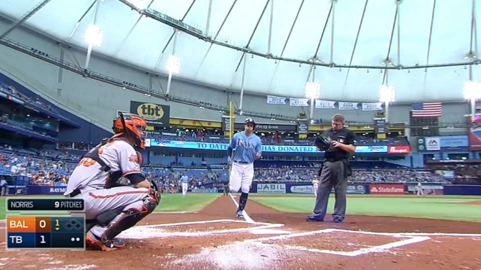 Rays hit four homers