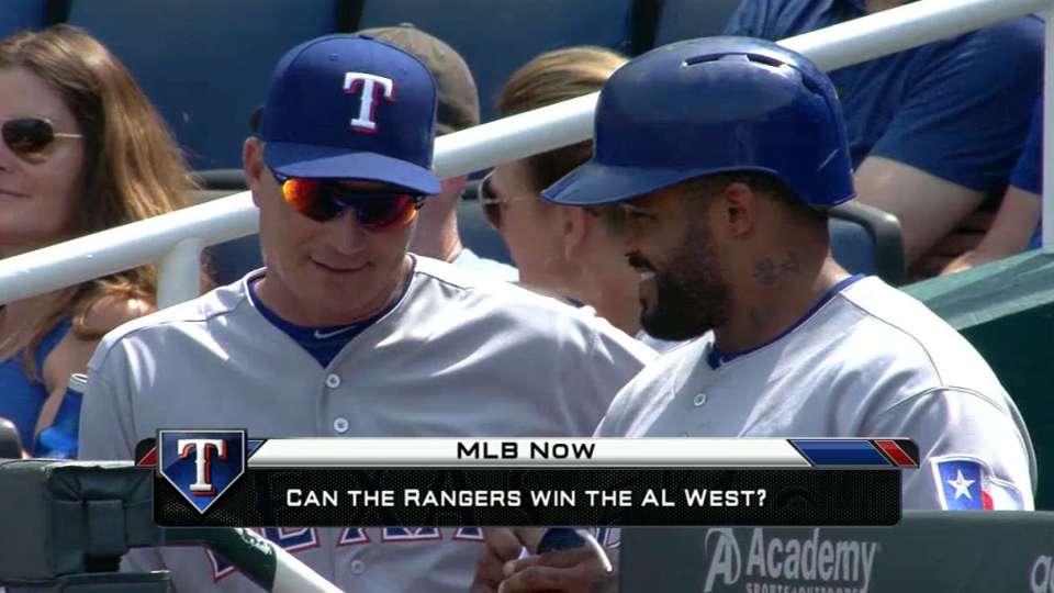 MLB Now on Rangers
