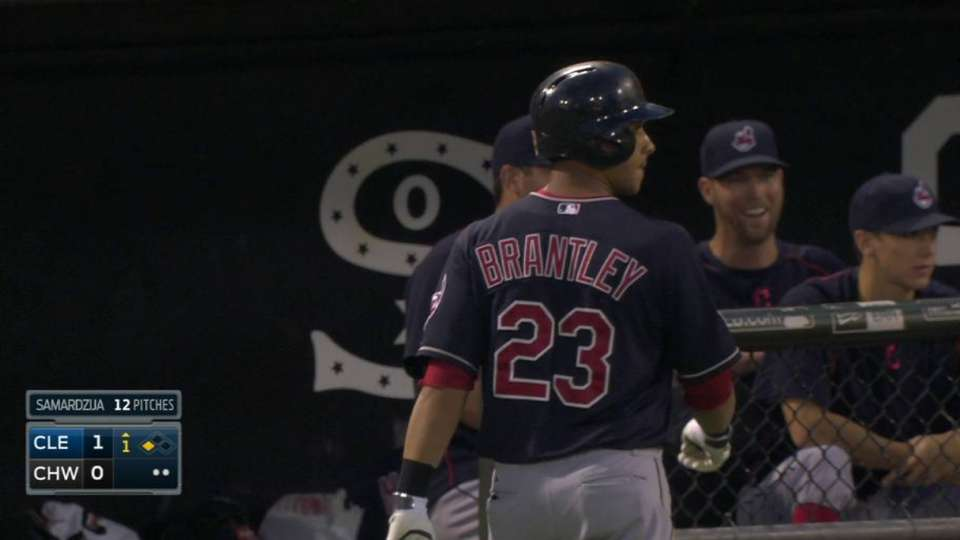 Brantley's RBI groundout