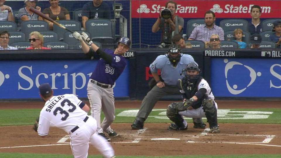Morneau's RBI single