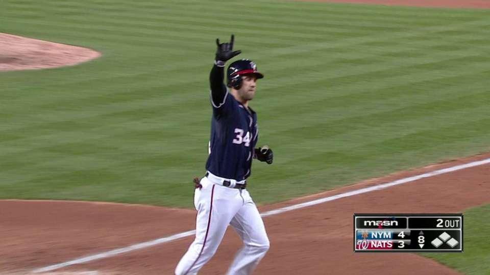Harper's second home run