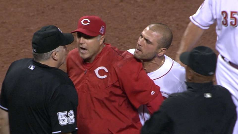 Votto, Price ejected in 8th