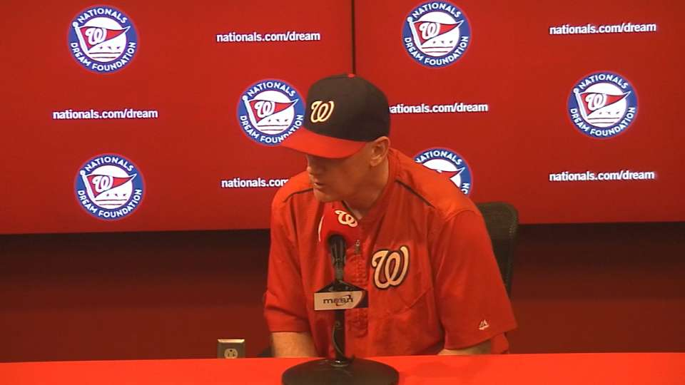 Williams on late-inning loss