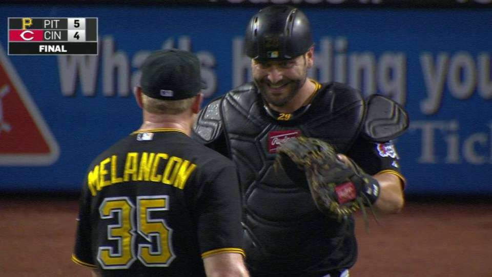 Melancon notches the save
