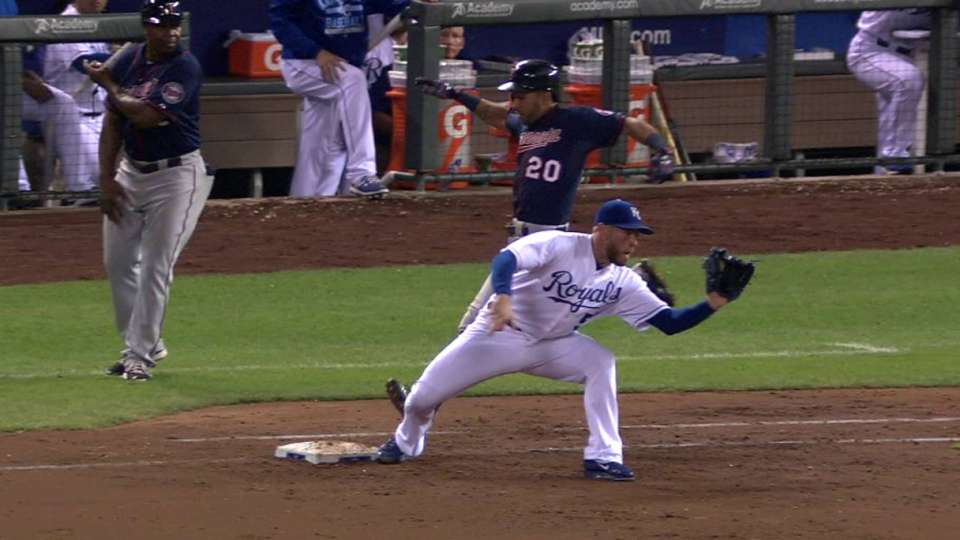 Hosmer turns two on Rosario