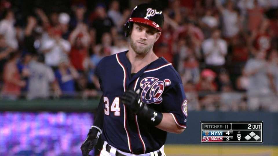 Harper's two home runs