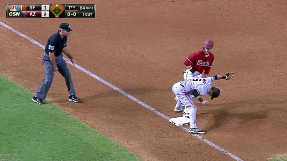 Williams gets out at third