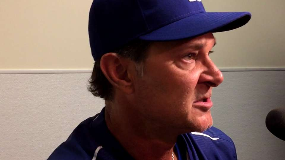 Mattingly on 3-2 loss to Angels