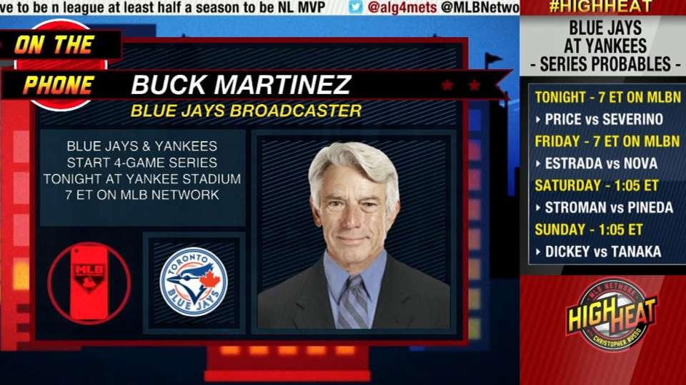 High Heat: Buck Martinez