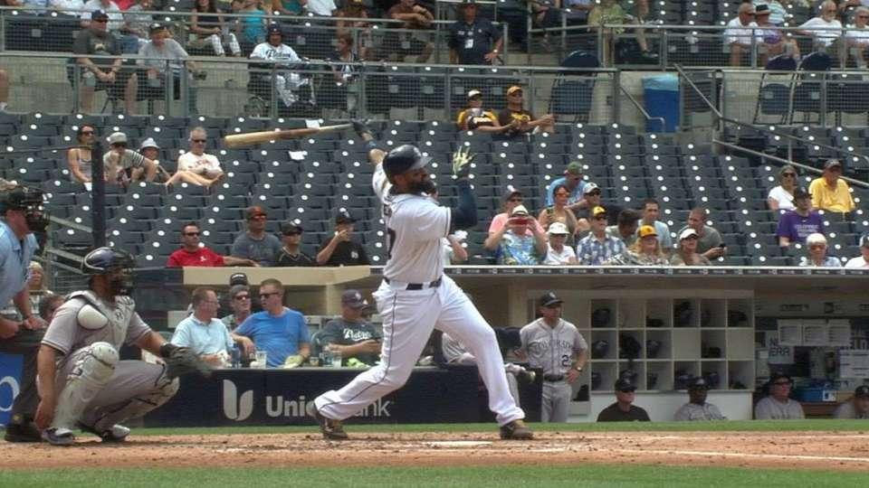 Kemp's solo blast