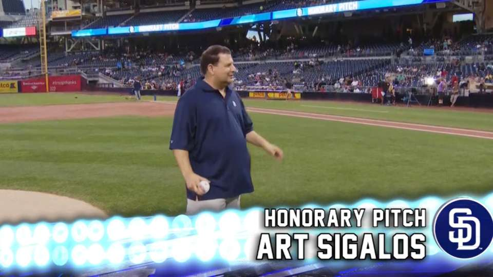 9/8/15: Honorary Pitch: Sigalos