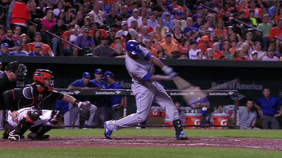 Cain's second homer