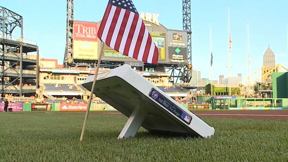 MLB remembers Sept. 11, 2001