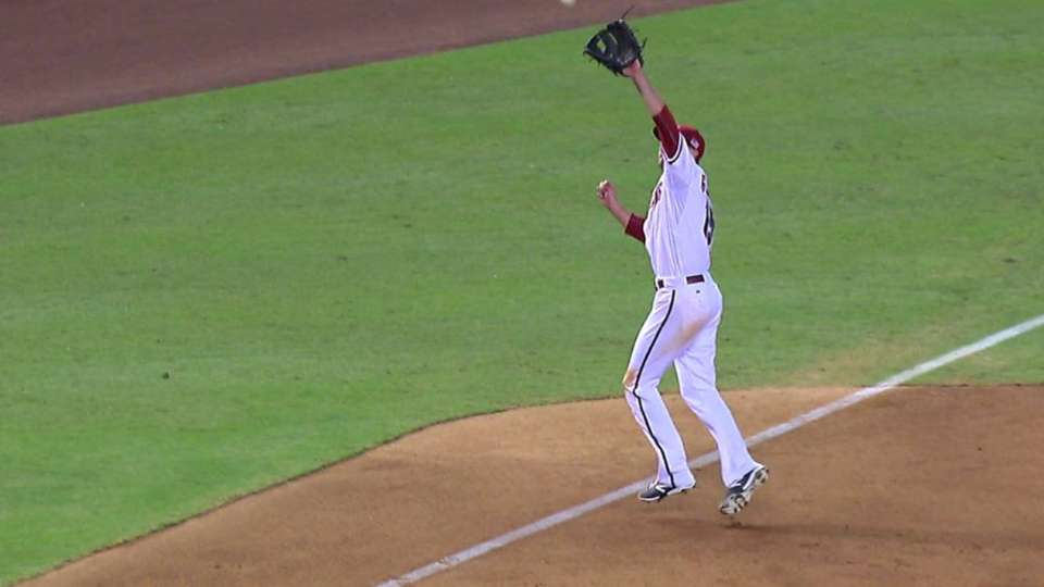 Gosselin's great throw