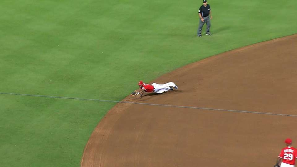 Andrus' diving catch