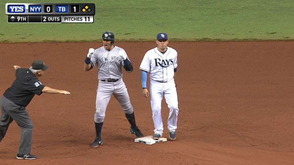 A-Rod's game-tying double