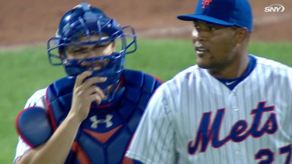 Familia earns save, Mets win