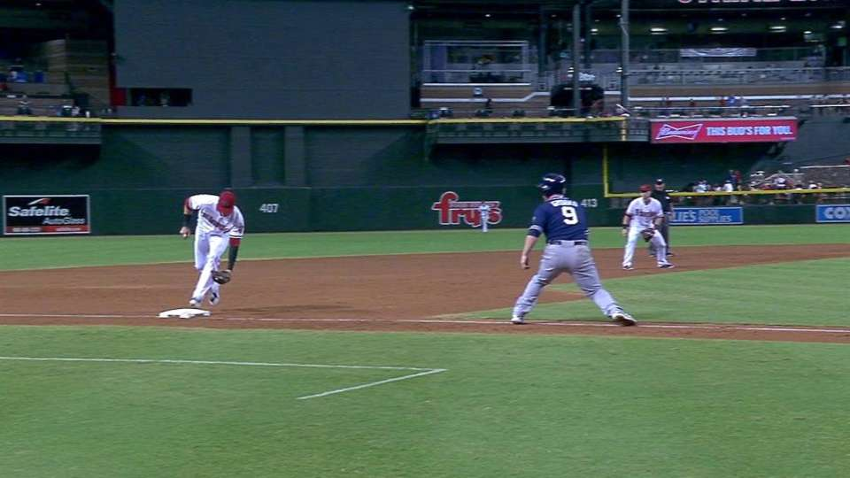 Lamb's unassisted double play