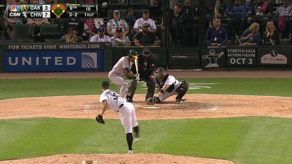 Crisp's bases-loaded walk