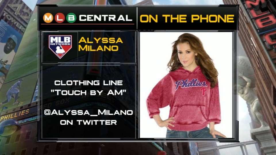 MLB Central: Alyssa Milano