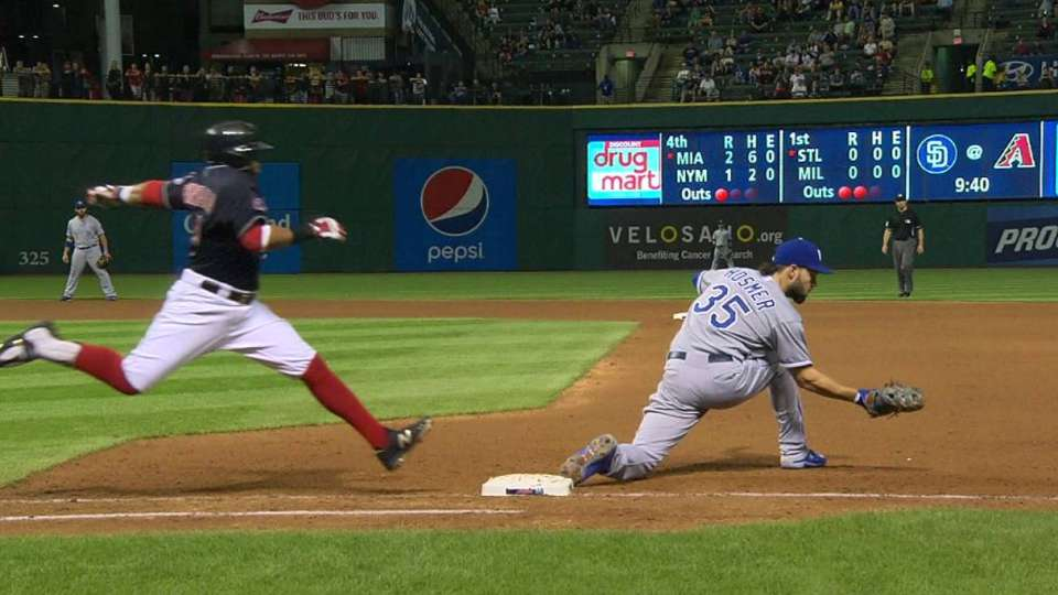 Zobrist's diving stop