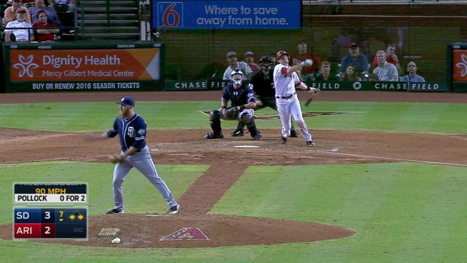 Pollock's three-run homer