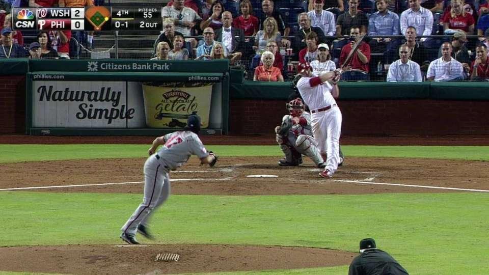 Ruf's two-run homer