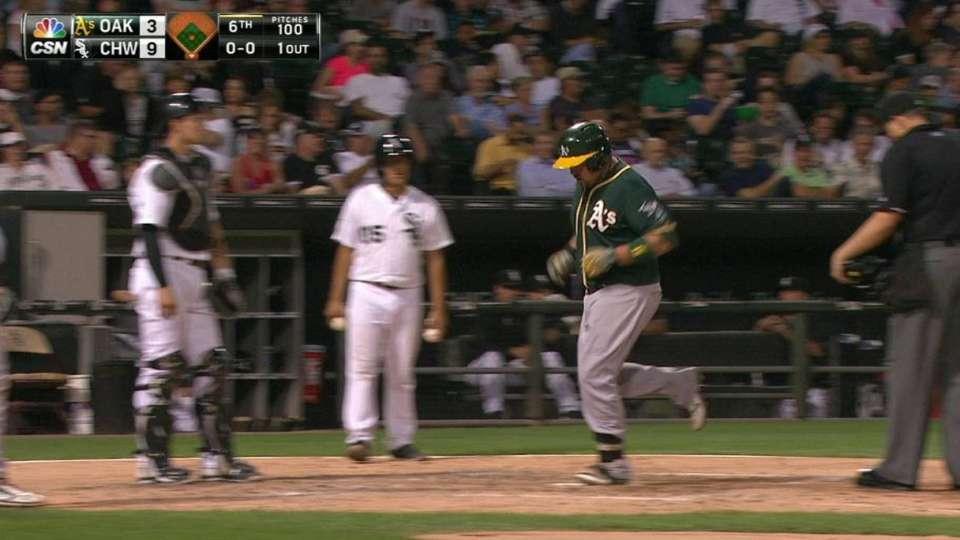 Butler's two-run home run