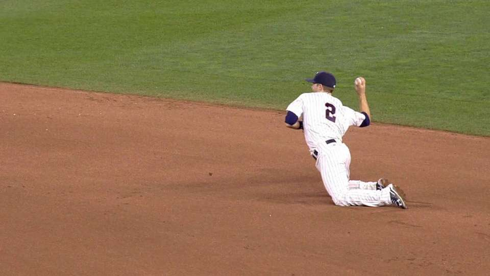 Dozier dives to start a pair