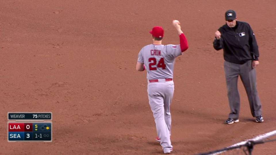 Cron snags liner, turns two