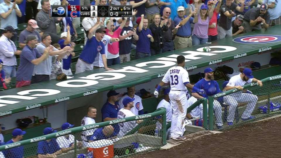 Castro's second homer of game
