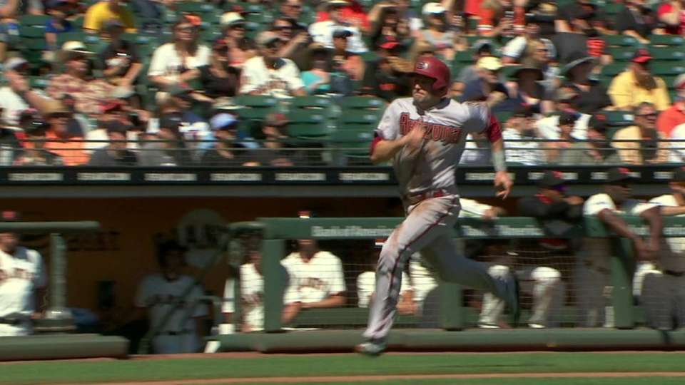 Peralta's RBI single to right