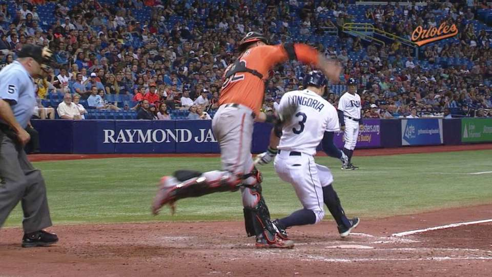 Longoria out on interference