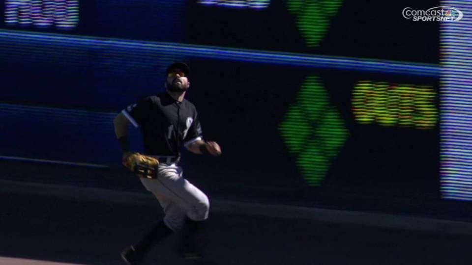 Eaton's running catch