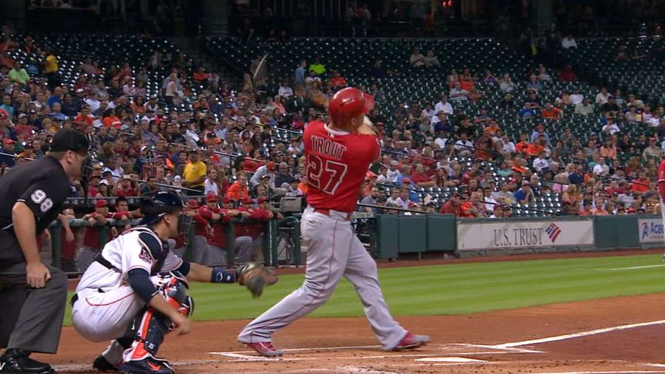 Must C: Trout blasts number 40