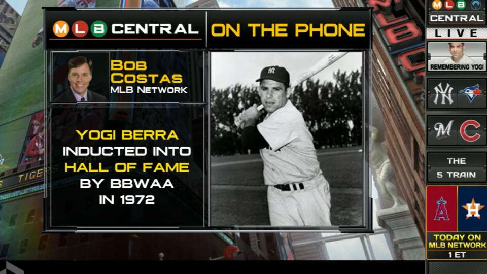 Bob Costas remembers Yogi Berra