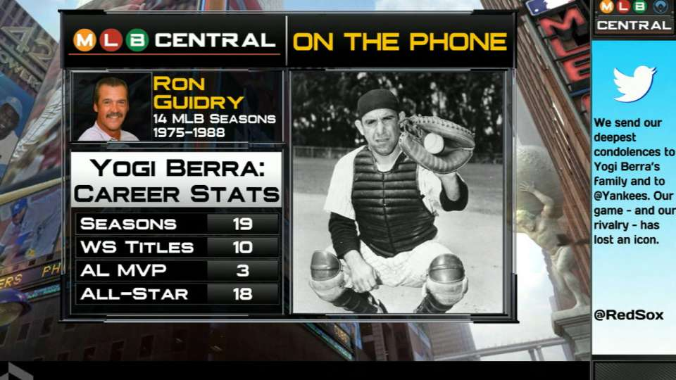 Ron Guidry remembers Yogi Berra