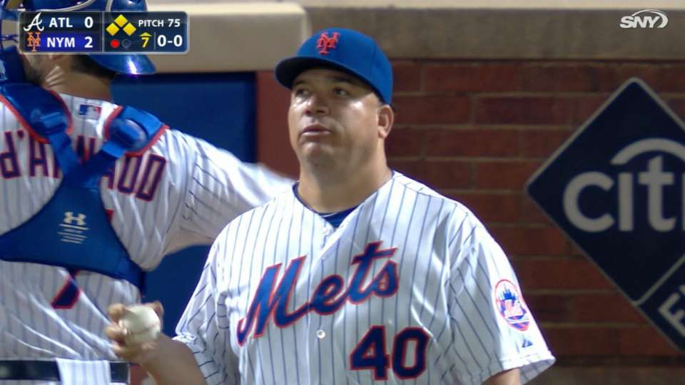 Colon pitches into the 7th