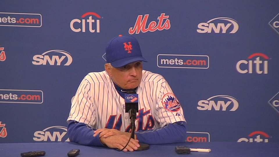 Collins on Mets' 6-3 loss
