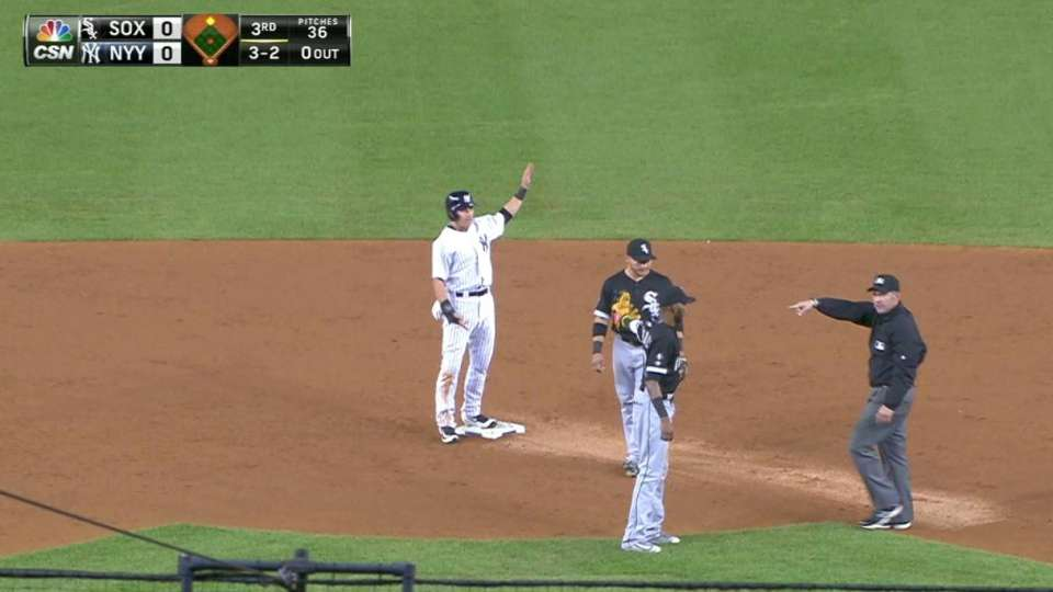 Sox get out on interference call
