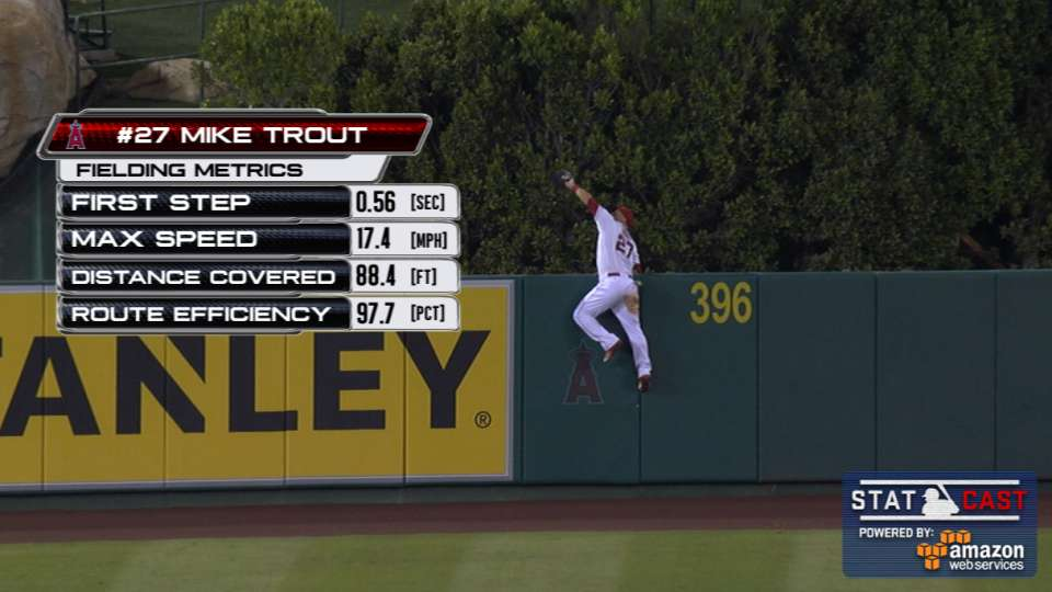 Statcast Trout Steals Home Run