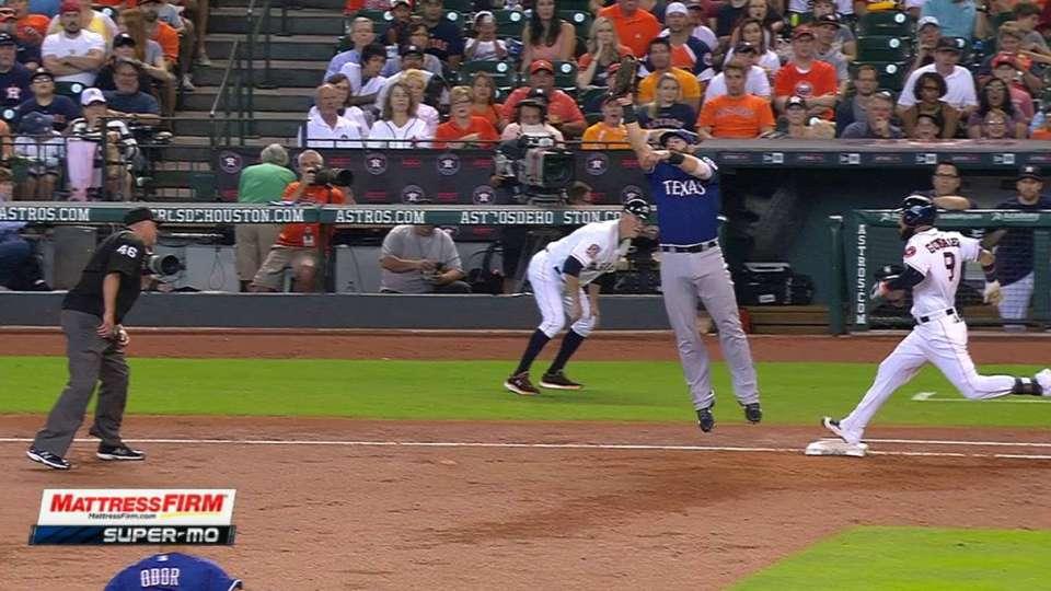 Gonzalez reaches on error