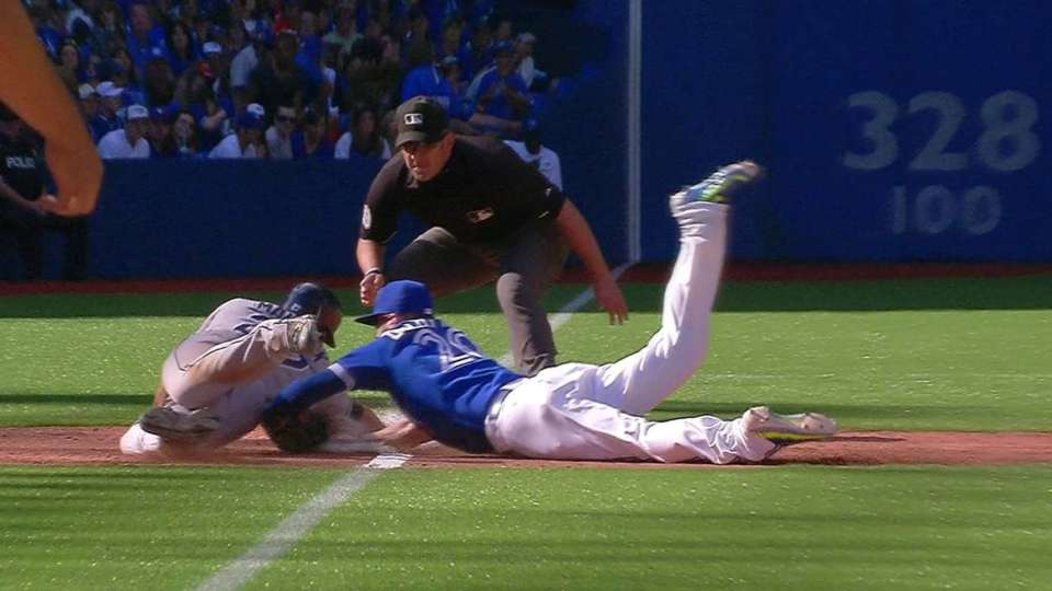 Donaldson's heads-up dive, tag