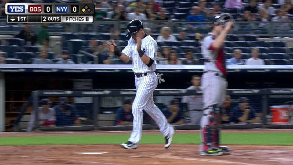 A-Rod opens scoring with sac fly