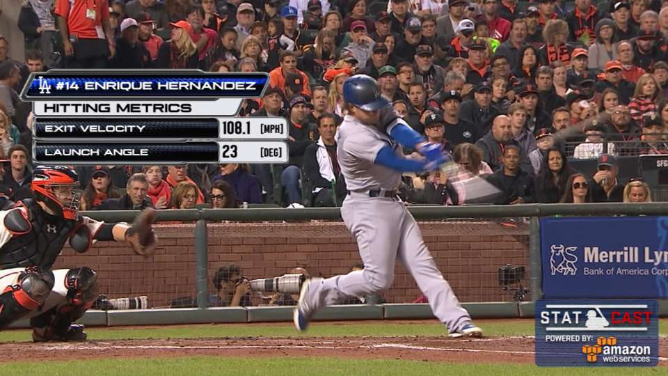 Statcast: Hernandez's big homer