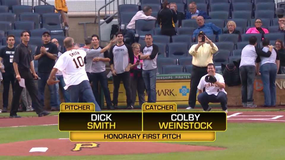 Smith and Weinstock First Pitch