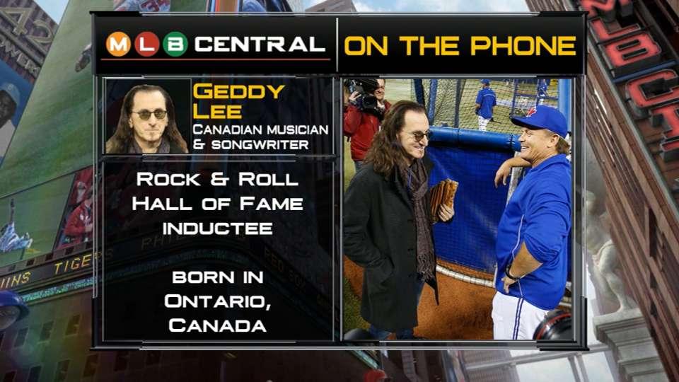 MLB Central: Geddy Lee
