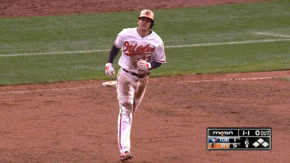 Machado crushes two home runs