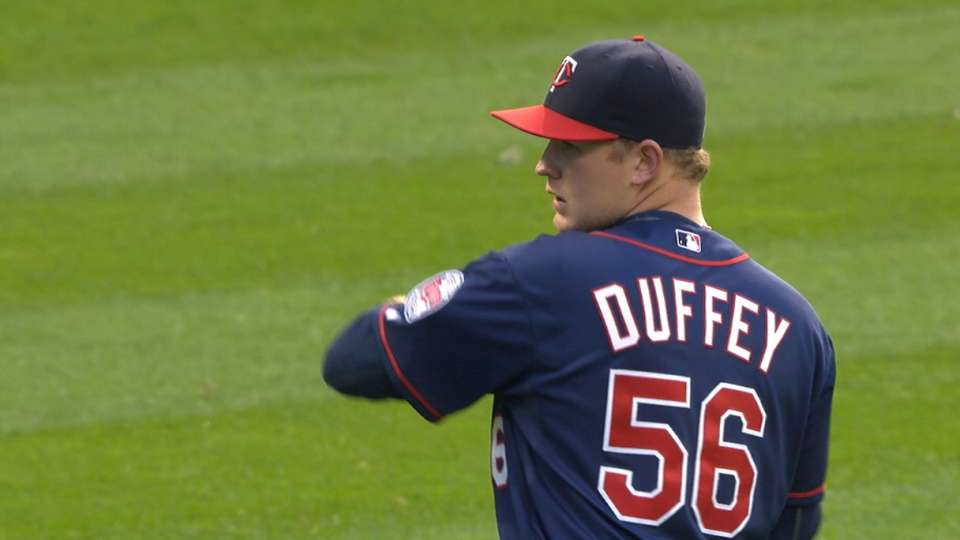 Duffey's solid outing